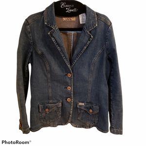 Vintage Levi's Button Front Blazer Denim Jacket